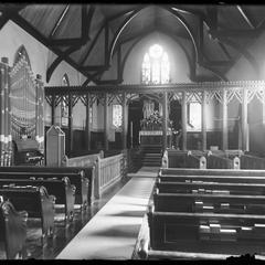 Kemper Hall Chapel - from door center