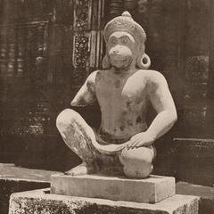 Primate Deity Sculpture
