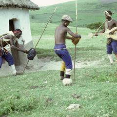 Southern Africa : Domestic Activities : games, stick-fighting