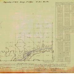 [Public Land Survey System map: Wisconsin Township 23 North, Range 06 East]