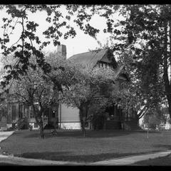 Mrs. Burritt residence