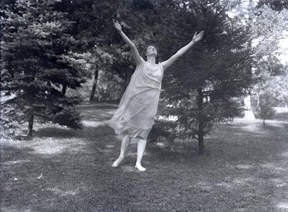 Summer school pageant dancer, 1917