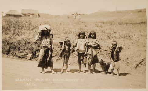 Bontoc Igorotes, Baguio, Benguet P.I., P.S.Co.