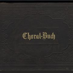 Choral-Buch für die Orgel : mit Zwischenspielen versehen, und für den vierstimmigen Gesang eingerichtet