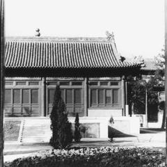 Main hall of the Xihuang Si (Xihuang Temple) 西黃寺.