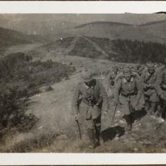 Auf den grossen Umgehungsmarsch zum Roten Turmpass 1916