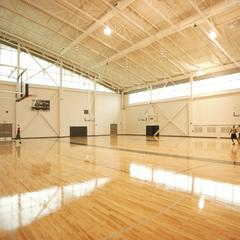 Gymnasium at the Kress Events Center