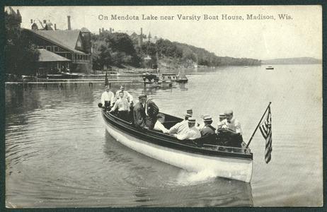 Boating on Lake Mendota