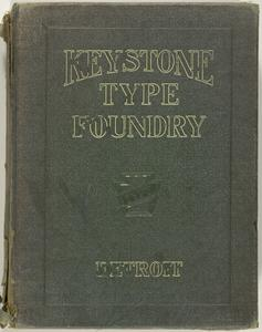 Keystone products consisting of type, material, furniture, complete line of miscellaneous supplies for printers and publishers, machinery and wood goods