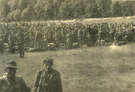 American prison camp for Germans