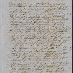 [Letter from Anton Klenert to his friend, Jakob Steinberger, October 18, 1853]