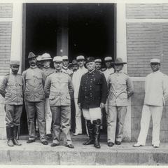 General MacArthur with General Otis and other officers, 1899-1901
