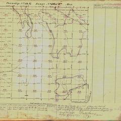 [Public Land Survey System map: Wisconsin Township 19 North, Range 03 West]