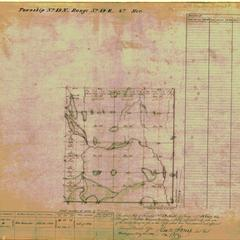 [Public Land Survey System map: Wisconsin Township 19 North, Range 19 East]