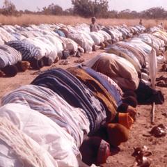 Tumu Muslims Praying