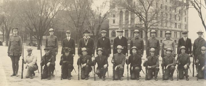 U of W Faculty Military Corps