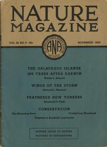 Nature magazine, Vol. 26, No. 5 (November 1935)