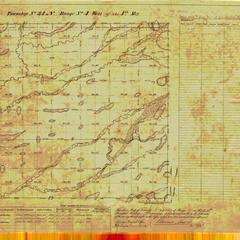 [Public Land Survey System map: Wisconsin Township 34 North, Range 04 West]
