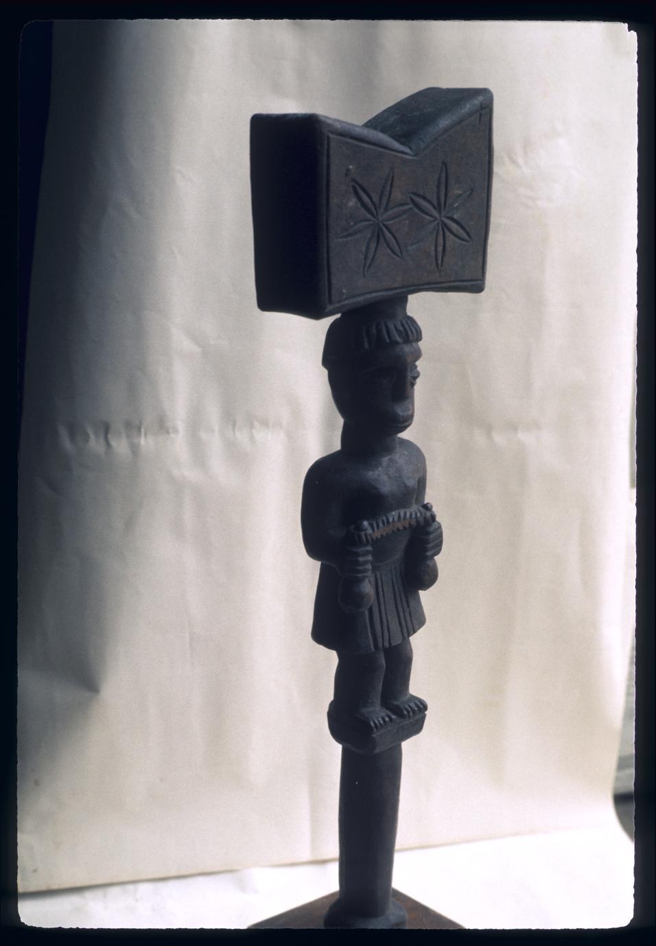 African Sculpture for Shango (Xango) of Nago