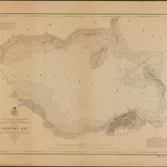 Chart of Sandusky Bay