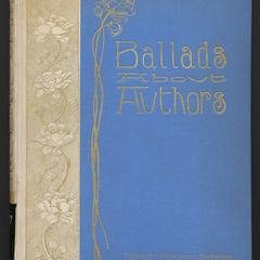 Ballads about authors