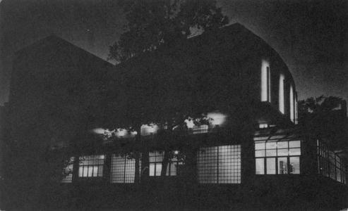 Union Theater at night