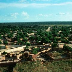 The Town of Dogondoutchi as Seen from Promontory of That Name