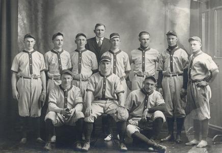 Baseball team, 1917