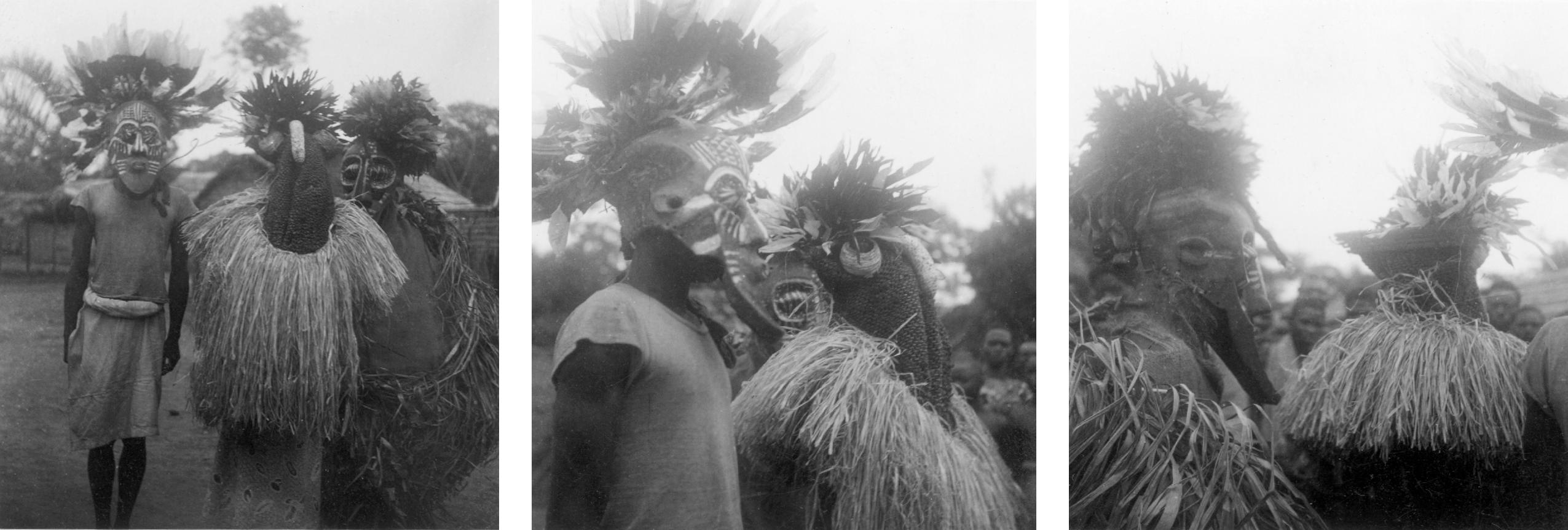 Kuba-Cwa Initiation Masks