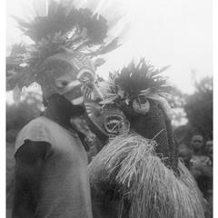 Kuba-Cwa Initiation Masks