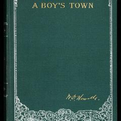 "A boy's town : described for ""Harper's young people"""