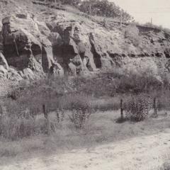 Illinois Central Railroad cut