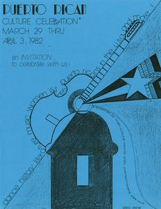 Poster for 1982 Puerto Rican Culture Celebration