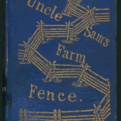 Uncle Sam's farm fence