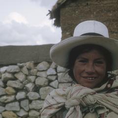 Indian lady, Hacienda Casa Blanca