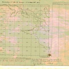 [Public Land Survey System map: Wisconsin Township 29 North, Range 09 West]