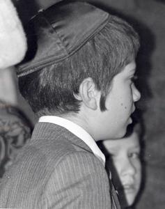 Young boy at Capitol Chanukah celebration
