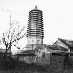 Cishou Ta (Pagoda of Benevolence and Longevity) 慈壽塔.