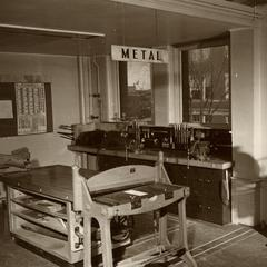 Metalwork shop