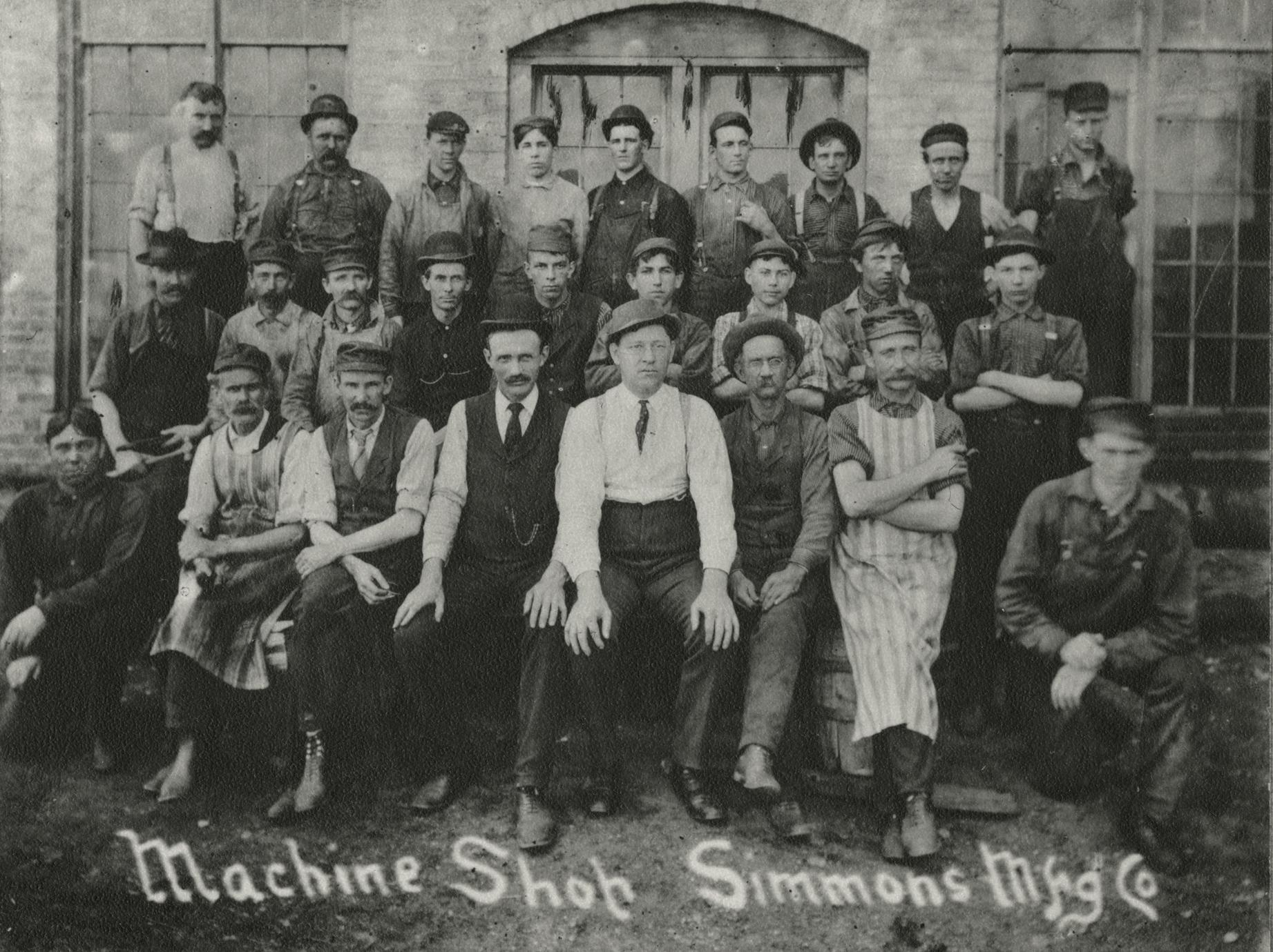 Simmons factory employees