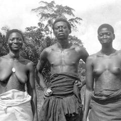 Bakuba Man and His Wives