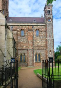 St. Albans Cathedral north transept east side