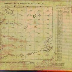 [Public Land Survey System map: Wisconsin Township 44 North, Range 10 West]