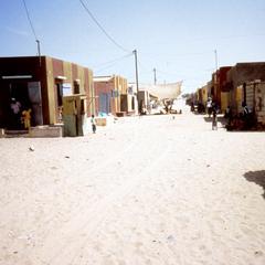 Section of Saint-Louis Called Fishermen's Village (Get Ndar)