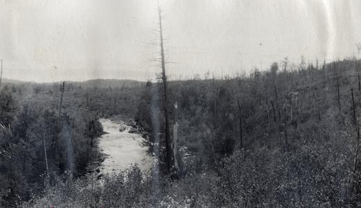 Falls of breakwater
