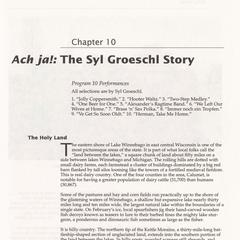 Ach ja! : The Syl Groeschl story
