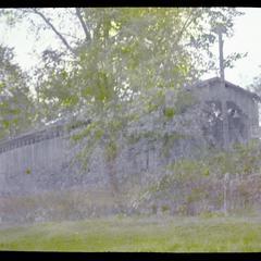 Covered bridge, Cedarburg, Wisconsin, end view