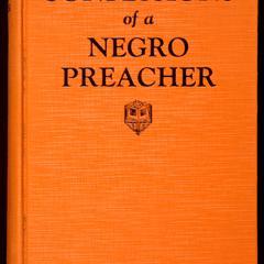 Confessions of a negro preacher