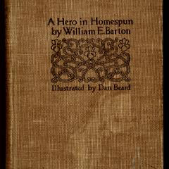 A hero in homespun : a tale of the loyal South