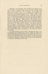Page 21 - Report of the librarian - Twenty-eighth and twenty-ninth annual reports of the Minneapolis Public Library, 1917-1918 28th/29th [1919?]